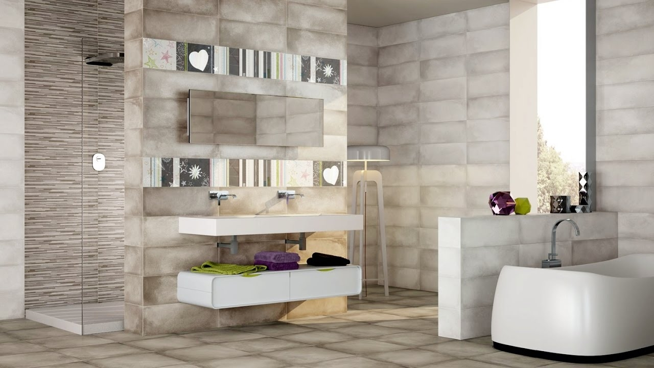 Bathroom Wall And Floor Tiles Design Ideas Youtube Layjao