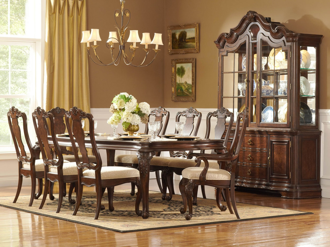 Dining Room Traditional Dining Table And Chairs Mesmerizing Ideas Layjao