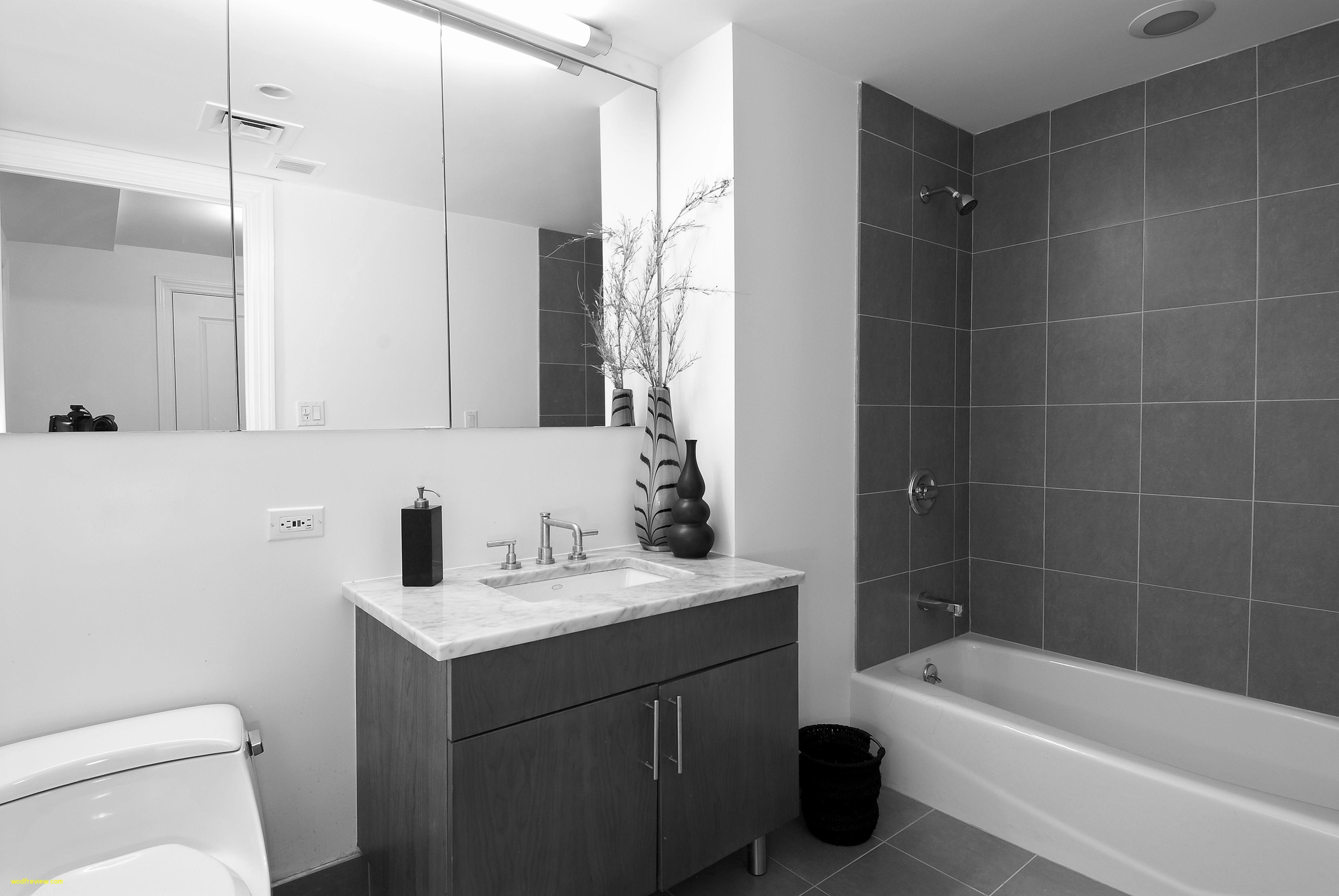 Lovely Small Bathroom Ideas Grey And White New Black Bathrooms Layjao