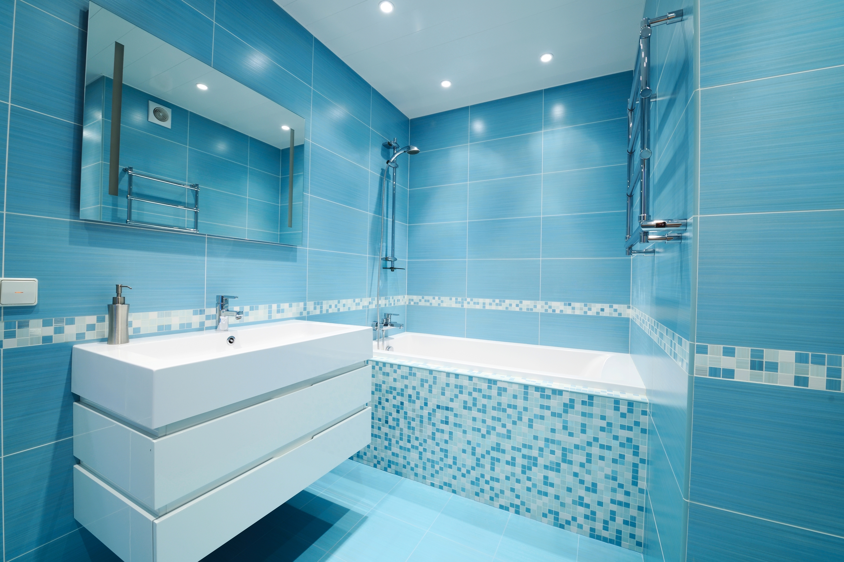Bathroom Design Blue Maribointelligentsolutionsco Layjao