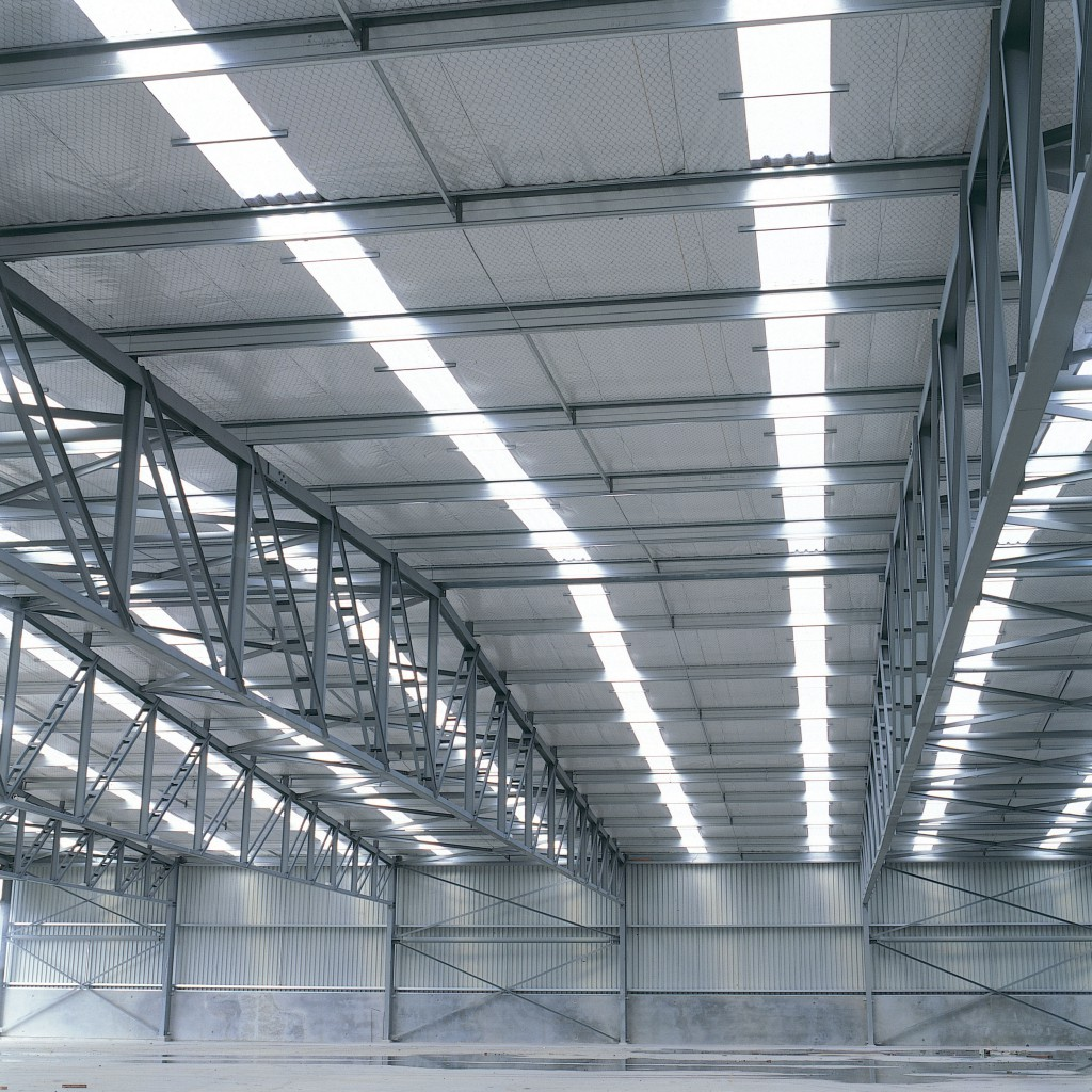 Warehouse Website Industrial Discoloured And Damaged Rooflights Roofers