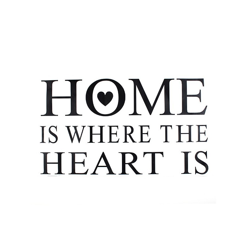 indoor home decor wall stickers home heart home sweet home wall sticker decals