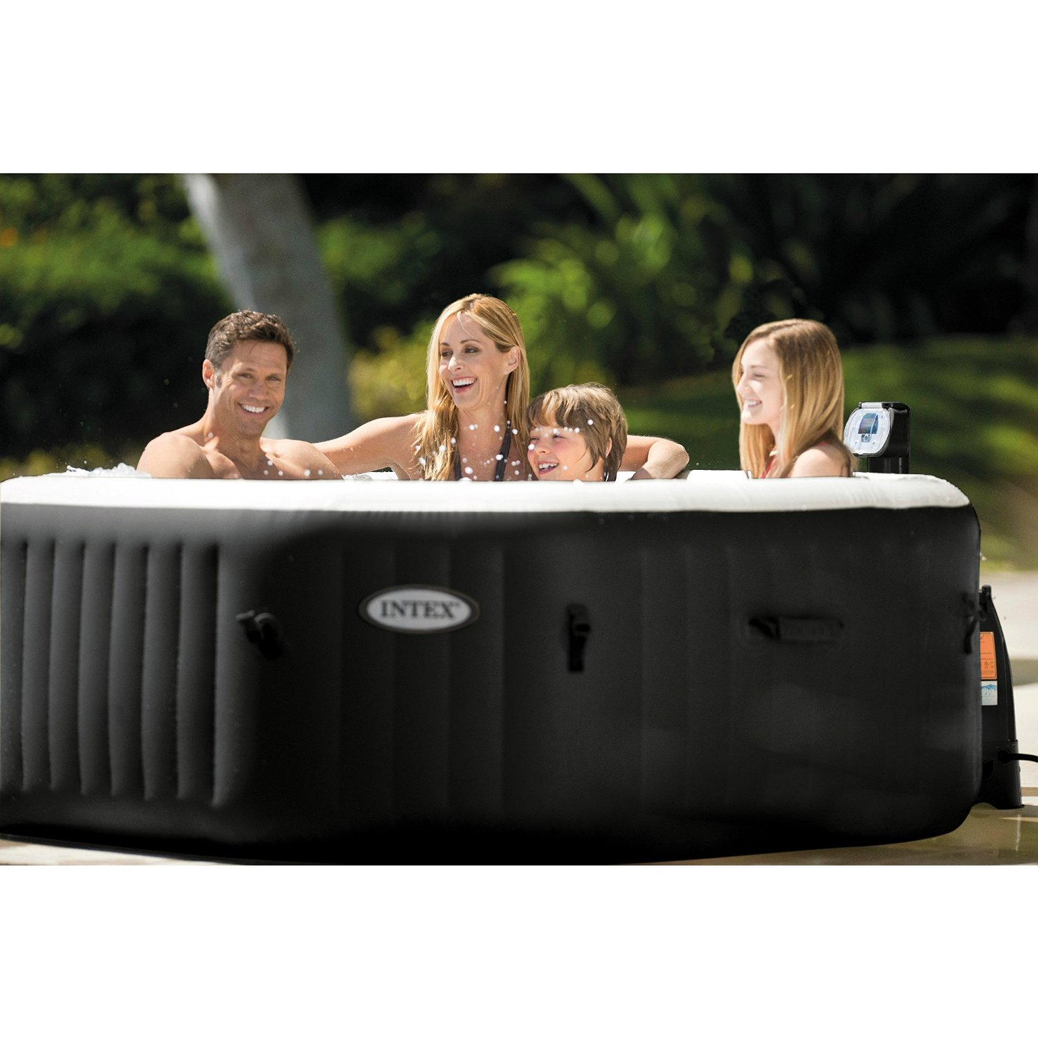 Jacuzzi Pool Deluxe Intex Purespa Jet And Bubble Deluxe Portable Hot Tub