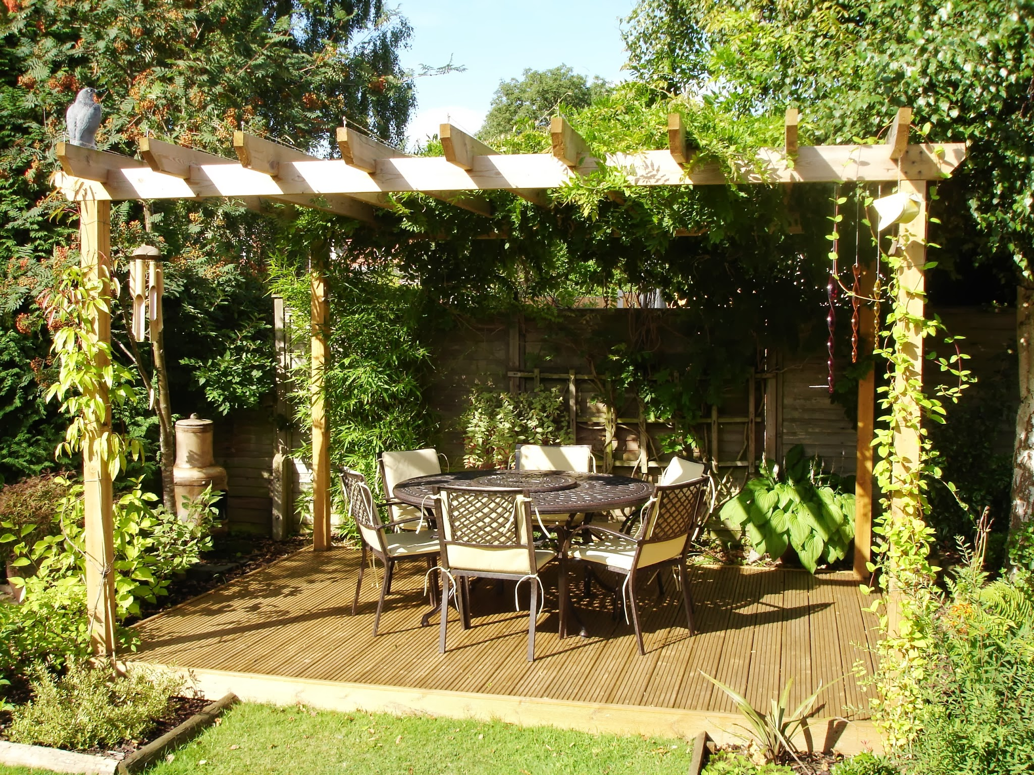 Amenagement Terrasse Tonnelle Amenagement Pergola Jardin