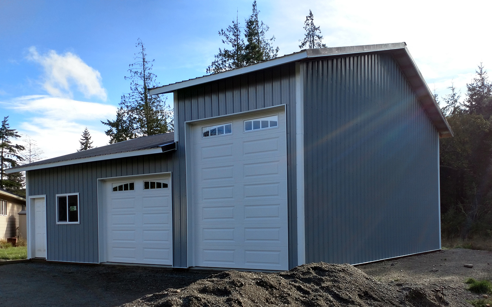 Garage Apartment Plans With Rv Storage Pole Building Gallery Lbconstructionofwhidbey