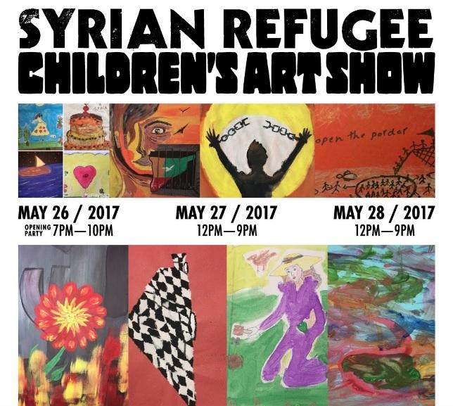 Syrian Refugee Children\u0027s Art Show to Come to Long Beach Memorial