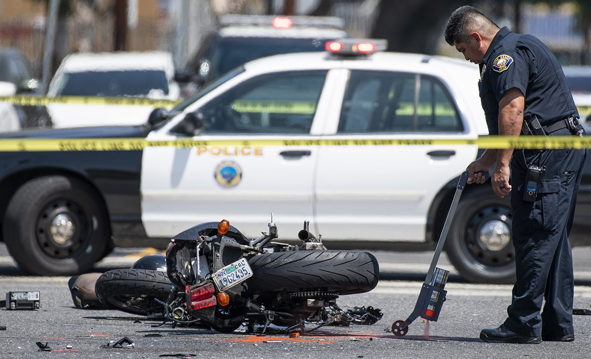 Injured In Accident Motorcyclist Critically Injured In Crash On Pacific Avenue Long