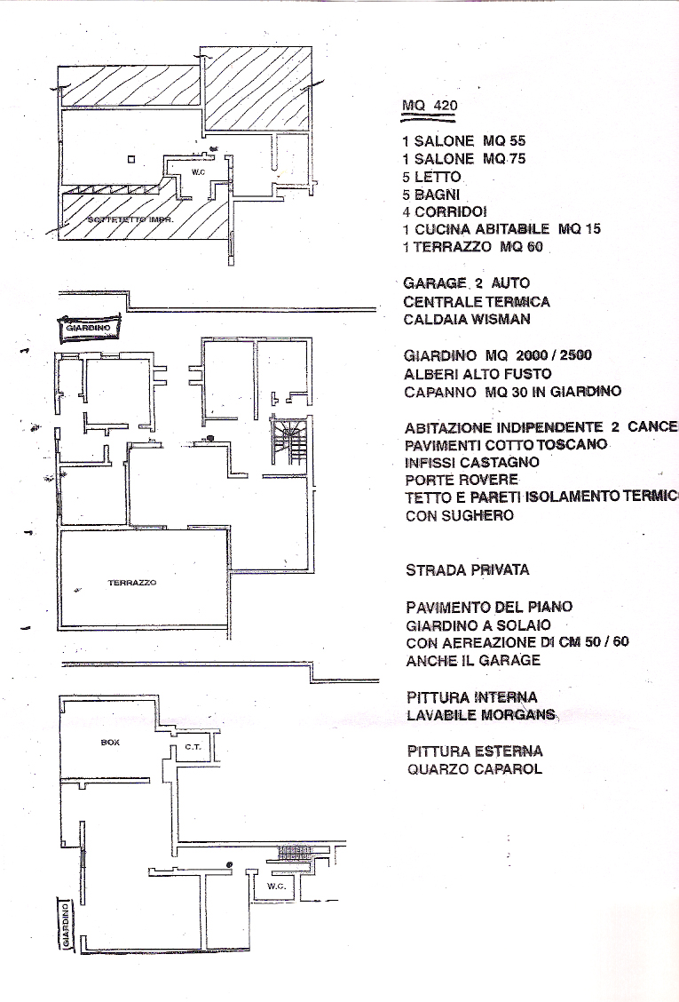 Pittura Termica Esterna 1 Bed Villa For Sale In Via Italo Piccagli Rome City Rome Lazio