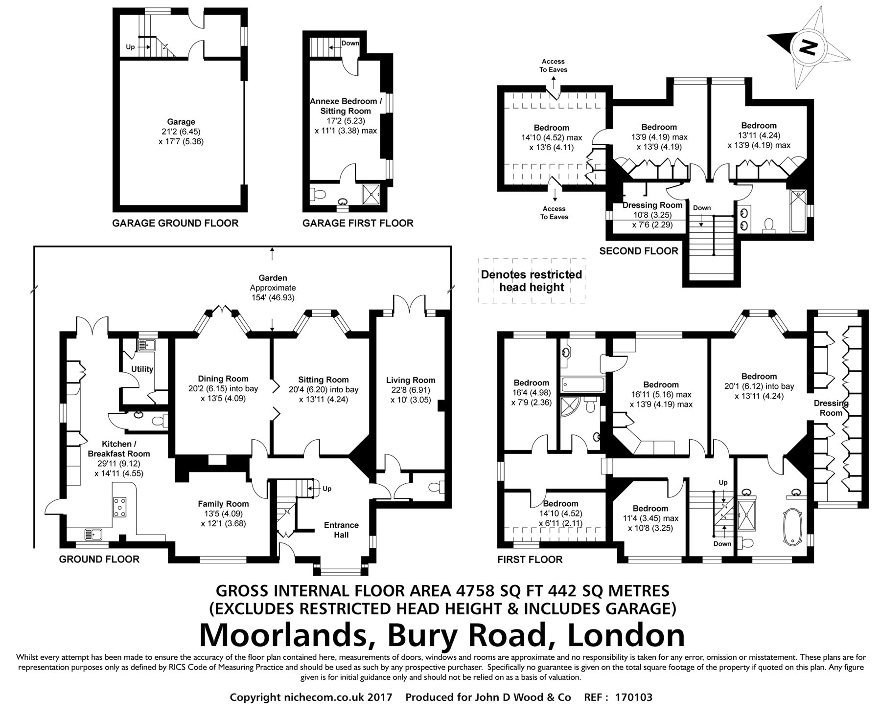 Epping Garden Supplies Bury Road London E4 7 Bedroom Detached House For Sale