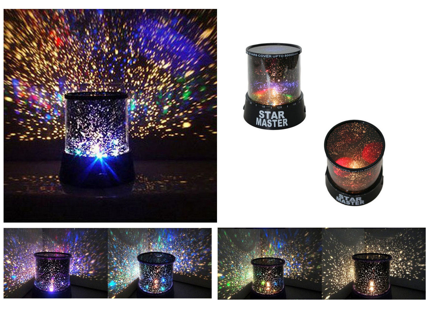 Kids Star Night Lights Kids Led Night Star Light Projector Life Changing Products