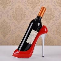 High Heel Shoe Wine Bottle Holder Wine Rack Accessories ...