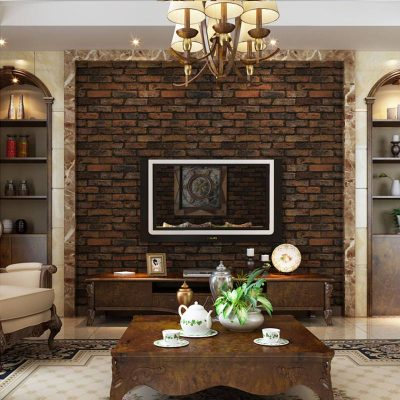 3D Stone Brick Design Vinyl Wallpaper - Life Changing Products