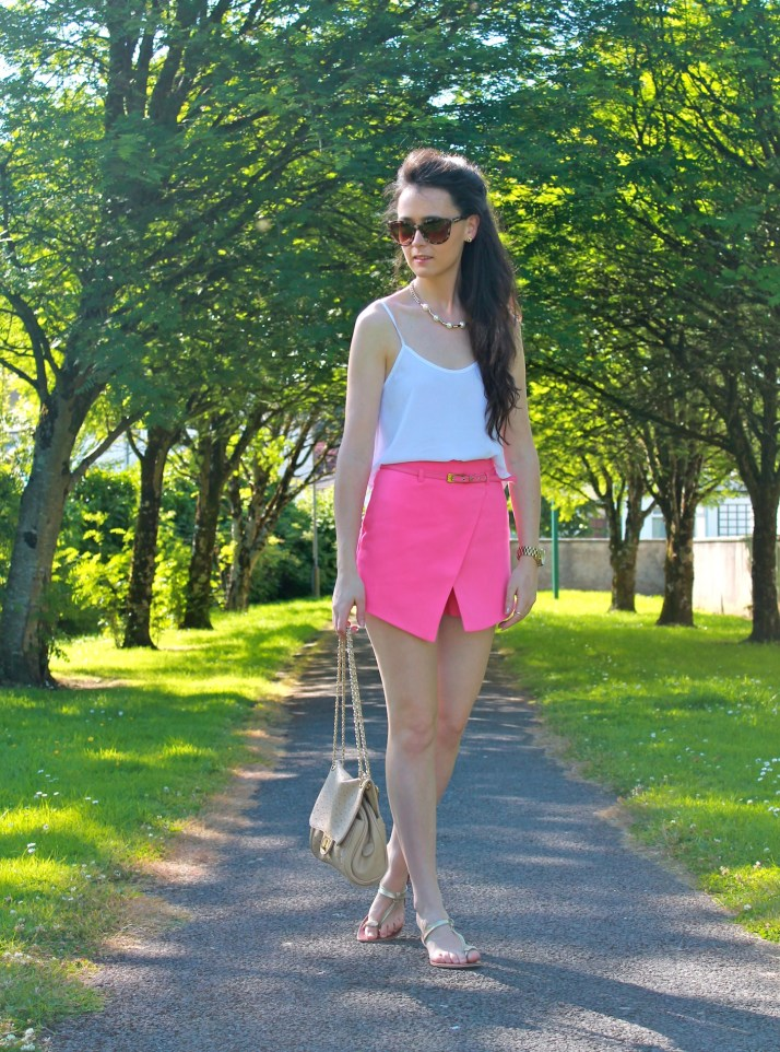 Irish Fashion Pink Skort 27