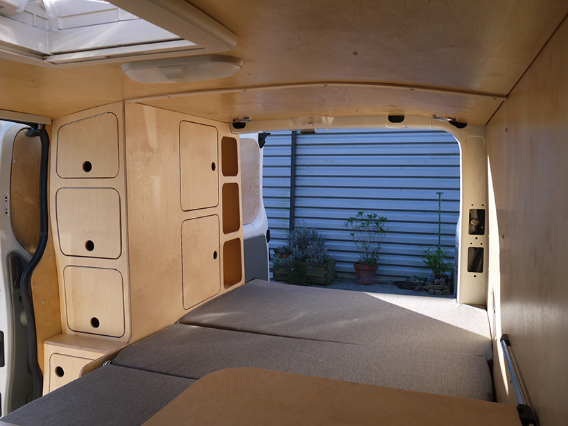 Meuble A Vinyle Renault Trafic Serge - Ld Camp
