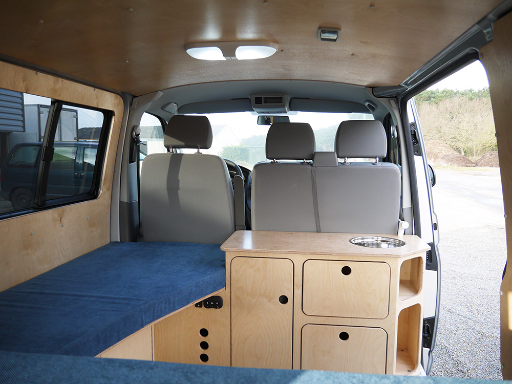 Idee Amenagement Placard Vw T5 Yannick - Ld Camp
