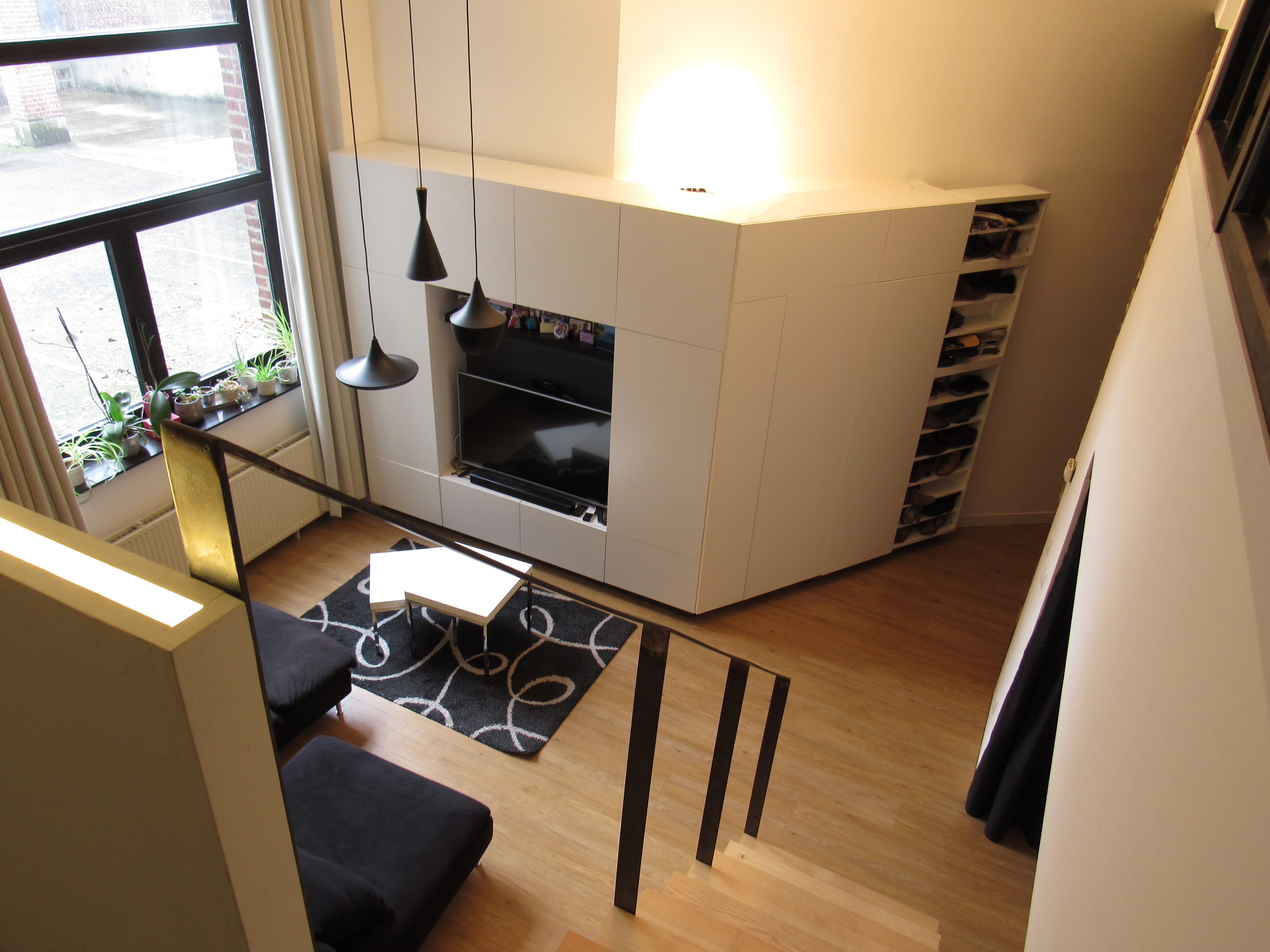 Loft Amenagement Interieur Salon Meuble Tv Dressing Sur Mesure L D Interieur
