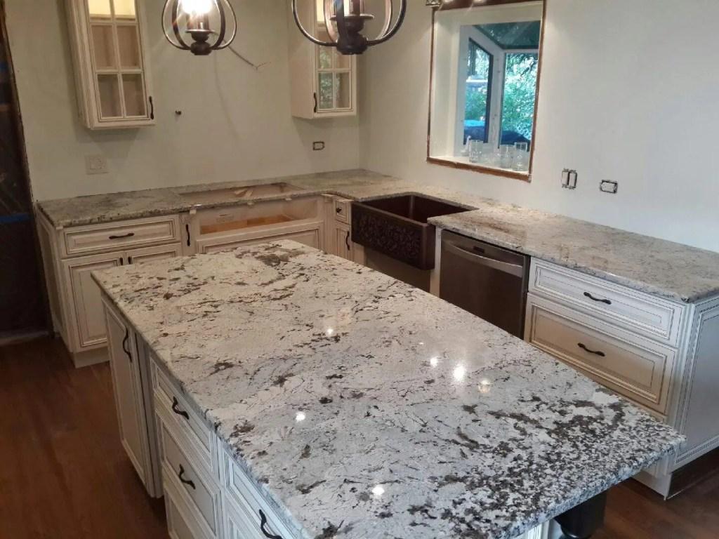 Delicatus White Granite : Juparana delicatus granite countertops skokie il ldk