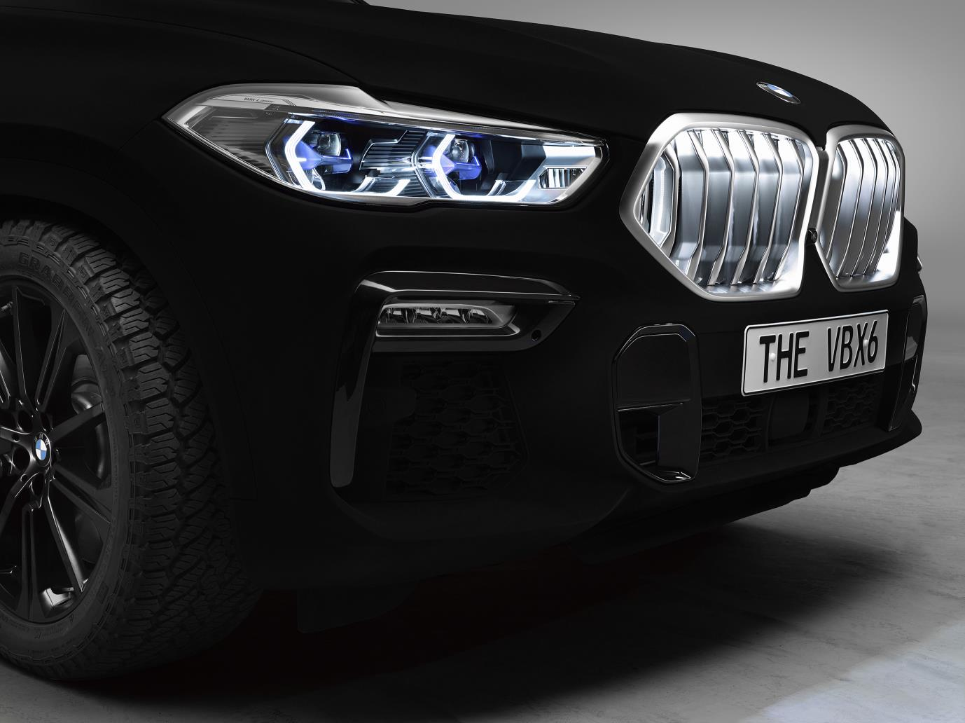 Vehicle Paint Manufacturers New Bmw X6 As A Spectacular Show Car World S First Vehicle