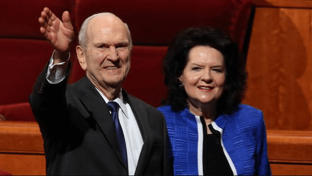 President And Sister Nelson Prepare For Concepcion Chile