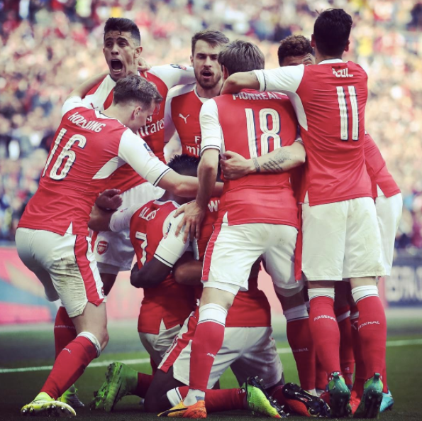 via @Arsenal instagram