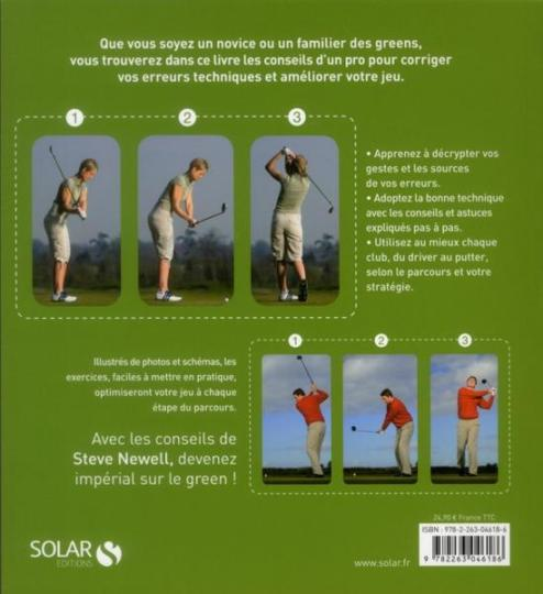golf problemes solutions livre