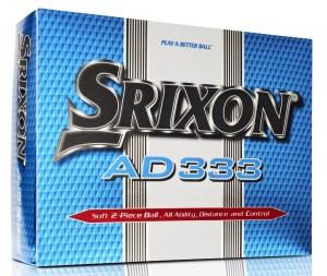 12 balles de golf srixon AD333