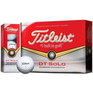 12 balles de golf titleist dt solo