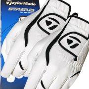 Lot de 2 gants TaylorMade N2056919 Stratus toutes saisons pour homme