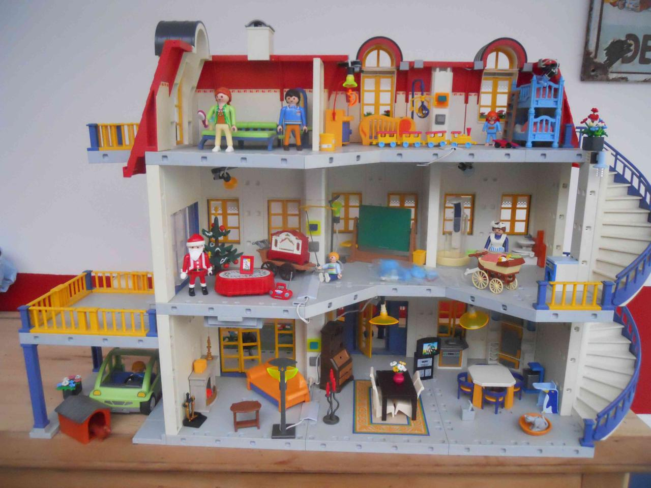 Salon Maison Moderne Playmobil