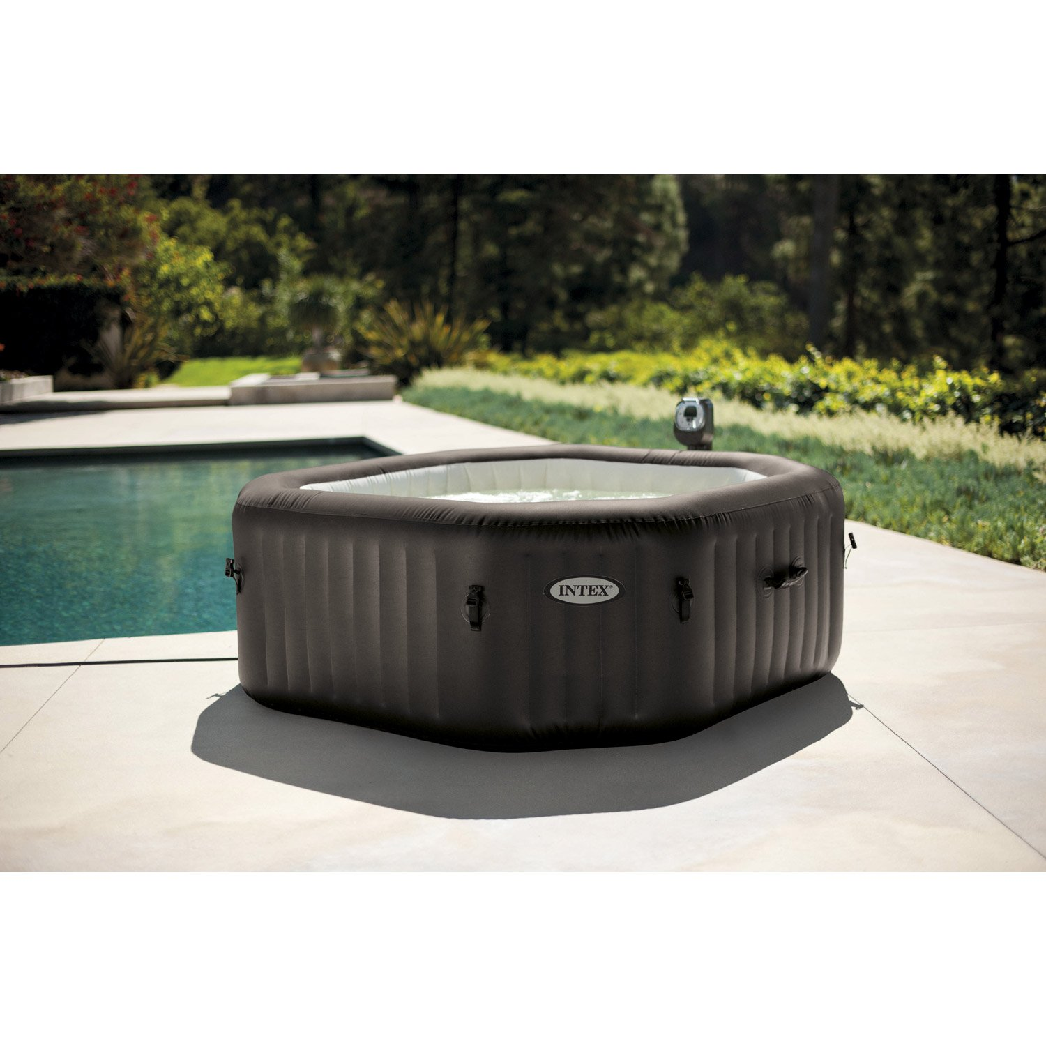 Jacuzzi Intex Leroy Merlin Spa Gonflable 4 Places Leroy Merlin