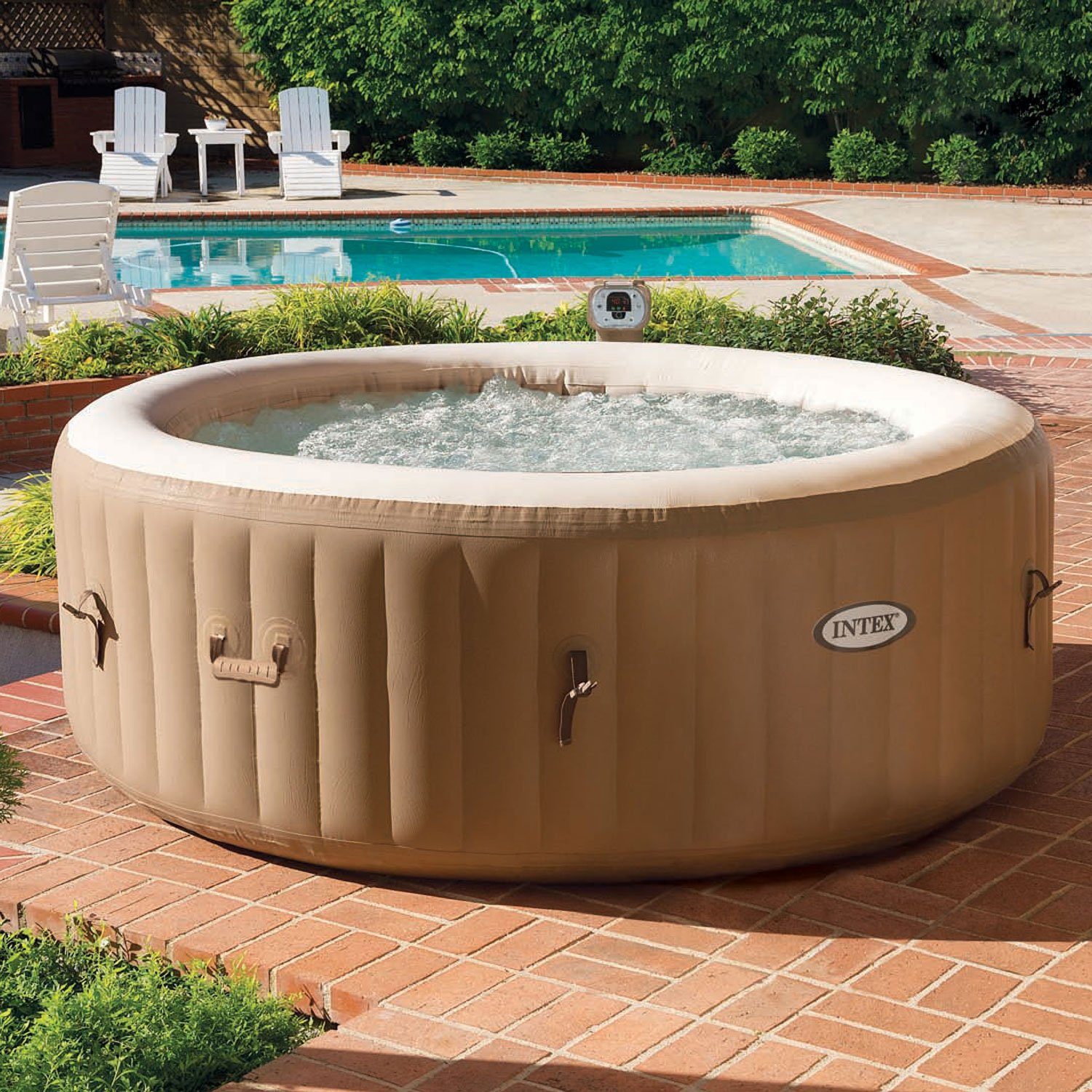 Jacuzzi Intex Leroy Merlin Spa Gonflable Intex Leroy Merlin