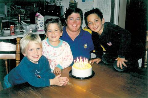 Sheree Fertuck is seen here with her children Lanna, Lauren and Lucas in this undated family photo.