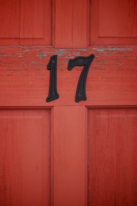 """""""A Red Door"""" was one of the locations assigned to a team. Image by Kristin M Woodman."""