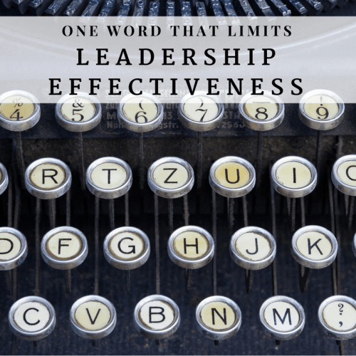 one word that limits effectiveness