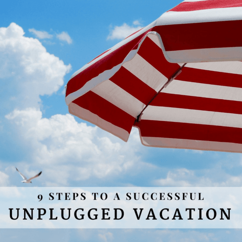 A successful unplugged vacation