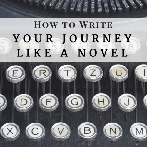 How to write your journey like a novel