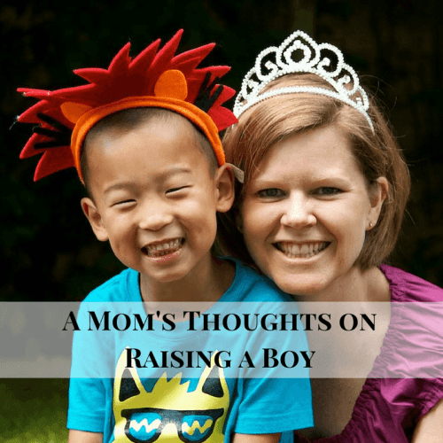 Thoughts on Raising a Boy