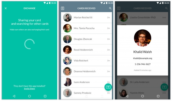 Nearby API Paves the Way for Card Case, a Digital Business Card