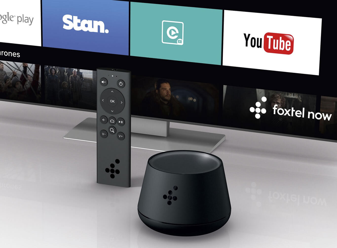 Tv Boxes Australia Android Tv Google Home Lookalike Foxtel Now Box Hits