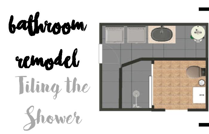 DIY Tiling Shower