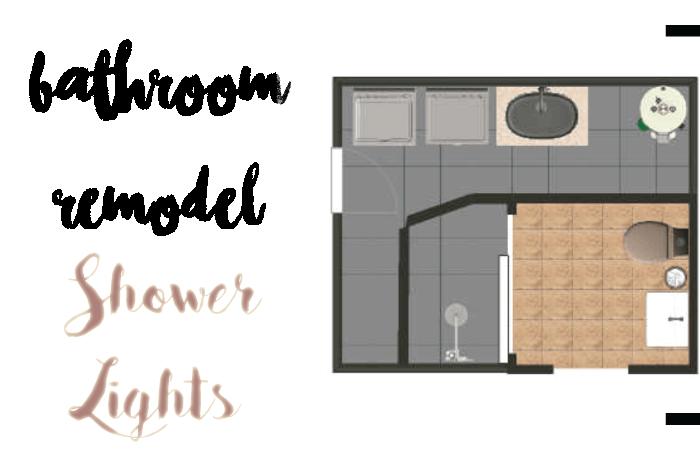 shower lights header image