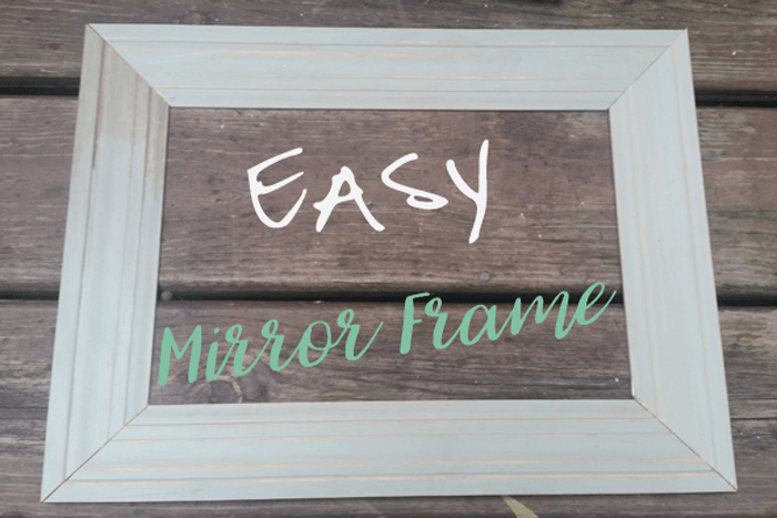 DIY mirror frame header image