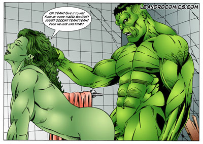 spider man and she hulk porn