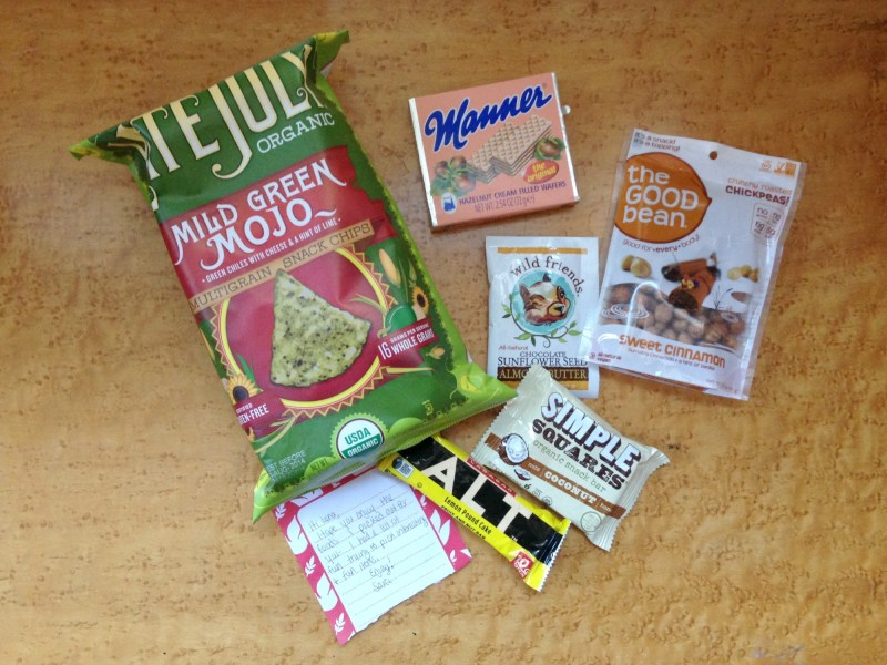 Foodie Pen Pals Reveal Day – April