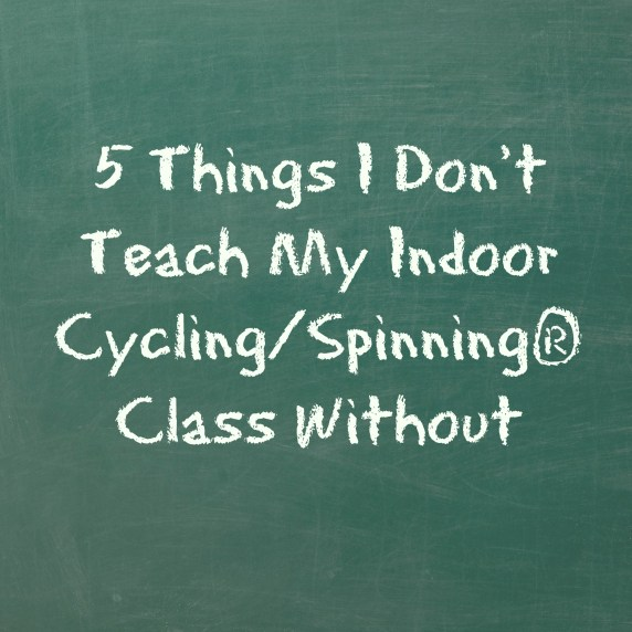 teach indoor cycling