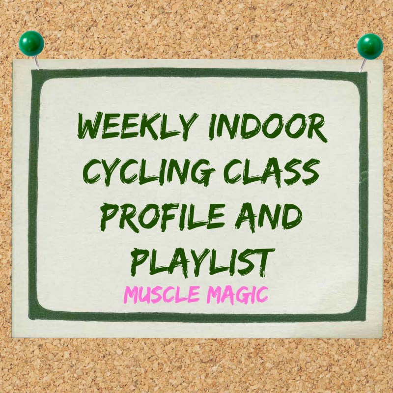 Profile and Playlist for Indoor Cycling: Muscle Magic