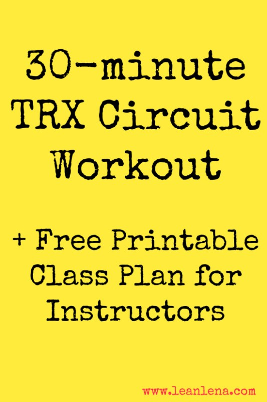 TRX Circuit Workout – Anna – TRX Thursday