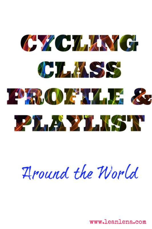 cycling class plan