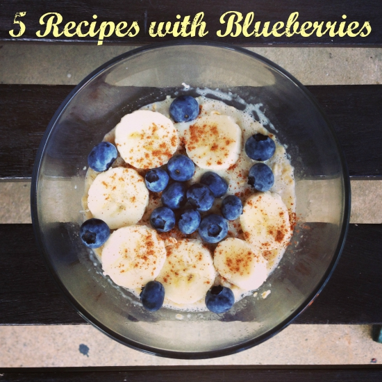 Recipes with Blueberries Roundup
