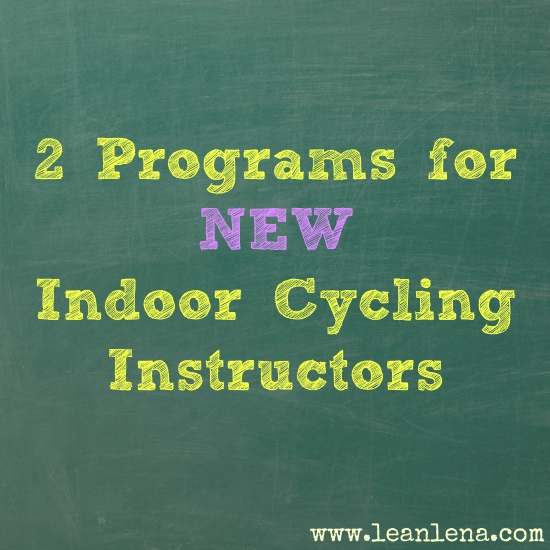 Programs to Help New Indoor Cycling Instructors